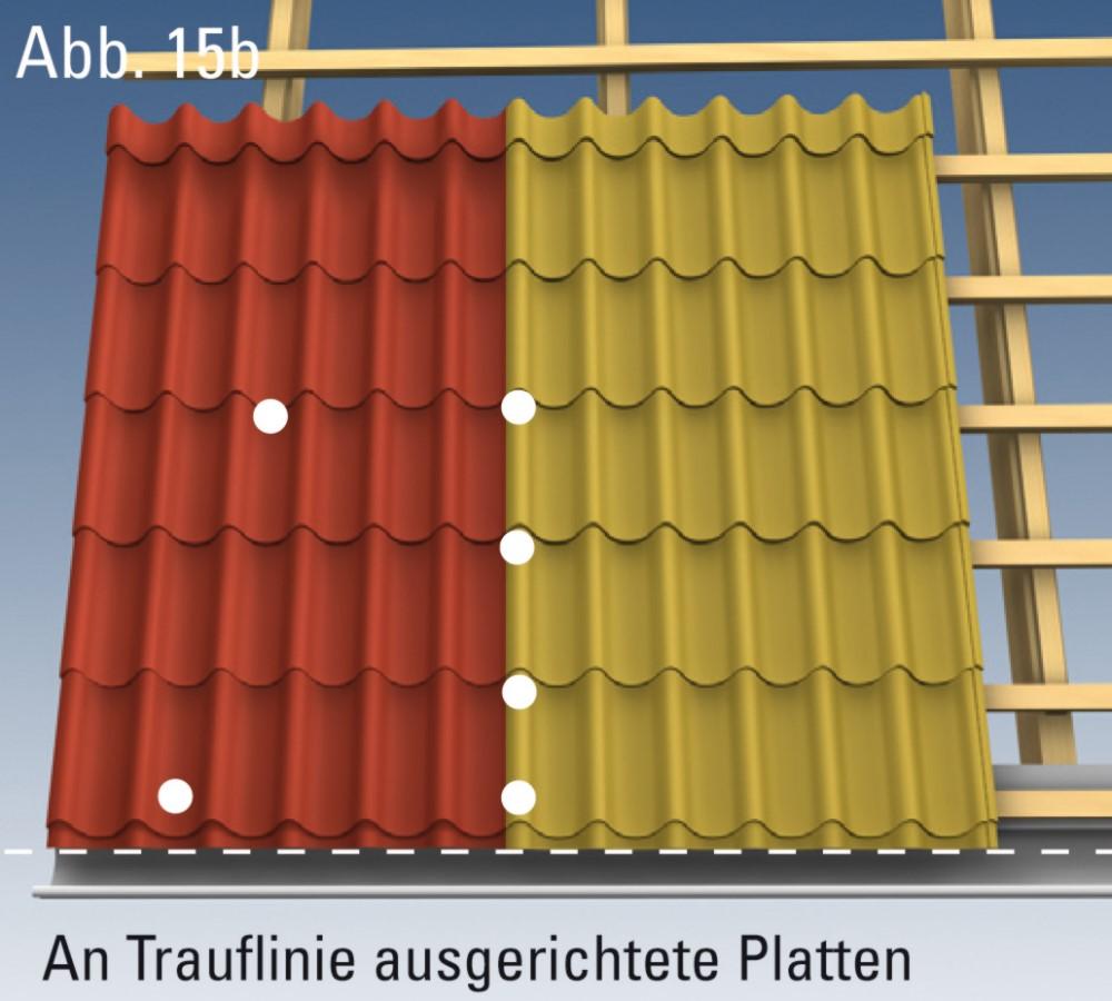 montageanleitung dachpfannenprofile der dachplattenprofi. Black Bedroom Furniture Sets. Home Design Ideas