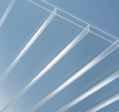 Link zu Stegdoppelplatten aus Acrylglas