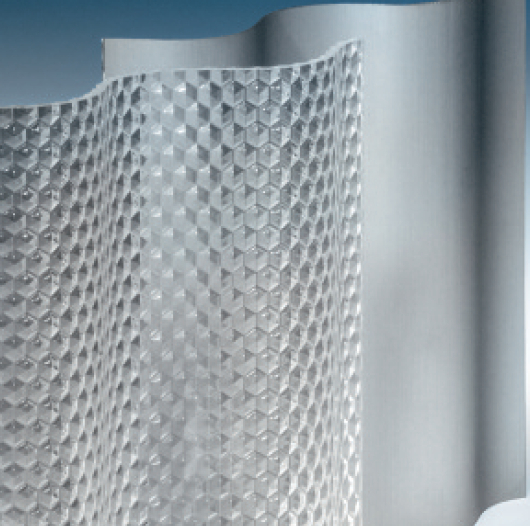 einschalige Lichtplatten aus PVC Polycarbonat Acrylglas