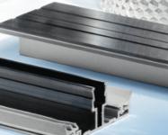 Zubehör Stegplatten: Aluminium-Verlegeprofil für Hohlkammerplatten