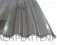 Lichtplatte Acryl Perlgrim Trapezprofil