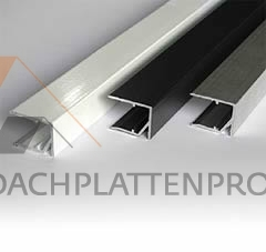 Abschlußprofil Aluminium