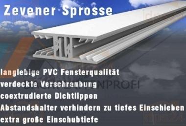Verlegeprofil Zevener Sprosse f. Stegplatten