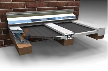 Verlegeprofil DUO Aluminium