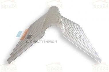 Zubehör für Dachplatten: First, Wand, Mauer