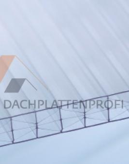Stegdreifachplatte PC 16 mm Xtra-stark glasklar