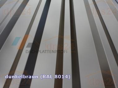 Trapezblech SO*PREIS HOHES Profil 35/207 0.5mm 1. Wahl