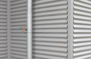 Stahlblechplatte Wellprofil 0.4mm 5 Farben