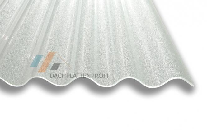 Lichtplatte Acryl 3 mm C-Struktur gekräuselt