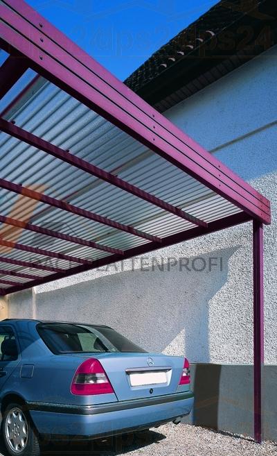 Lichtplatte SOLLUX® Trapezprofil BIAXIAL gereckt