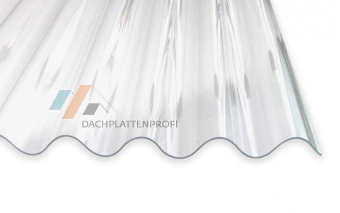 Lichtplatten klar Wellenprofil - maximale Helligkeit und lange Lebensdauer
