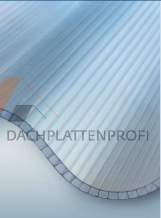 Lichtplatte Polycarbonat Hohlkammerplatte Wellprofil - Kondensatschutz
