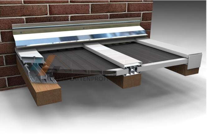 verlegeprofil duo aluminium in zubeh r stegplatten der dachplattenprofi. Black Bedroom Furniture Sets. Home Design Ideas