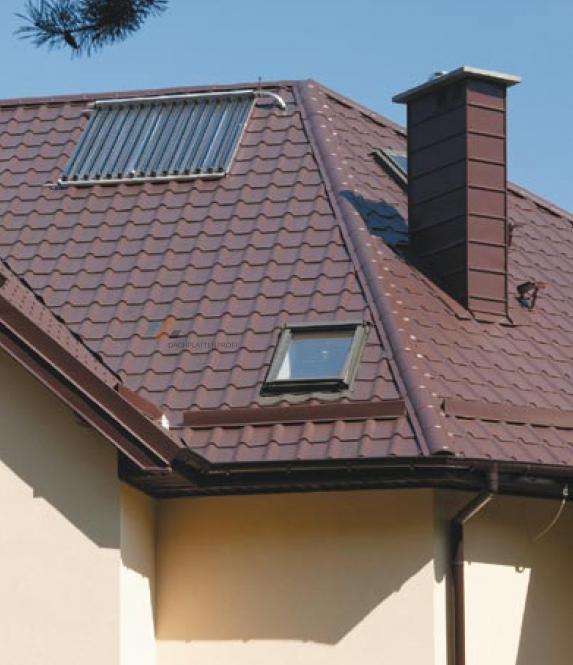 Sonderpreis 1. Wahl Dachpfannenblech VLIESBESCH. cm-exakte Längen viele versch. Poly'beschichtung