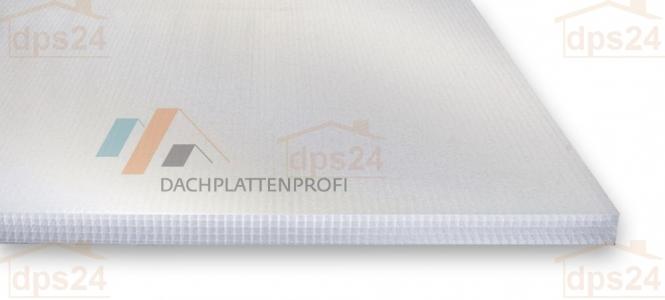 Stegsechsfachplatte PC Wintergartenplatte temp.reduz./Infrarotschutz