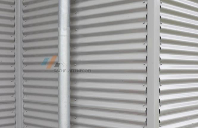 Stahlblechplatte Wellprofil 0.5mm 13 Farben