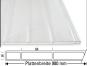 Doppelstegplatte Acryl Breitkammer - besonders schöne Optik