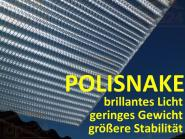 Sonderofferte Stegplatte Polisnake glasklar 16 mm