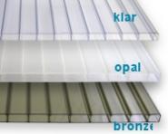 Stegdoppelplatte opal