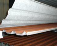Trapezblech HOHES Profil 35/207 0.4mm SoPosten MIT VLIES