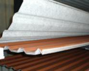 Trapezblech HOHES Profil 35DR 0.5mm 1. Wahl MIT VLIES