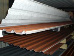 trapezblech 20 110 soposten mit vlies in sonderposten stahlblech der dachplattenprofi. Black Bedroom Furniture Sets. Home Design Ideas