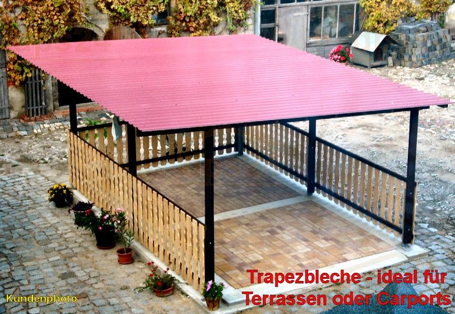 trapezblech 20 110 stark 1 wahl in stahlblechplatten der dachplattenprofi. Black Bedroom Furniture Sets. Home Design Ideas