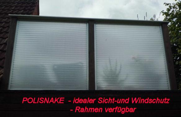 Sicht- u. Windschutzelement komplett in Sicht- und Windschutz  der ...